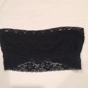 Free People lace strapless bra